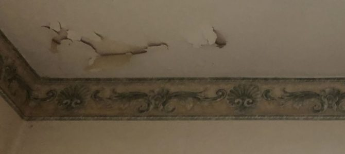 What is a Calcimine Ceiling?